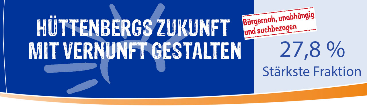 Hüttenbergs Zukunft mit Vernunft gestalten
